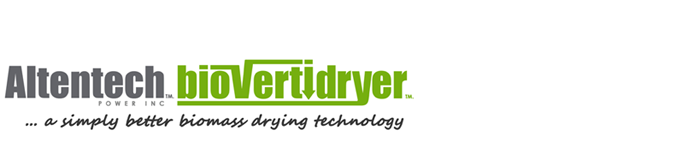 Altentech Biovertidryer... a simply better biomass drying technology