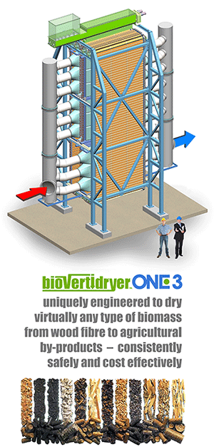 Altentech Biomass Dryer
